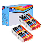 Compatible Ink Cartridges For Canon Pgi 250xl And Cli 251xl Value - Pack Of 20 (Bk-Bk-c-m-y)