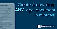 Free Online Legal Form & Document Creator | Legal Templates