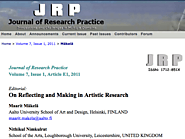 On Reflecting and Making in Artistic Research