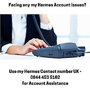 Use 24 hours my Hermes Contact Number 0844 453 5102