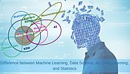 Difference between Machine Learning, Data Science, AI, Deep Learning, and Statistics