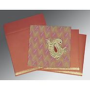 Traditional Indian Wedding Cards | AIN-1324 | A2zWeddingCards