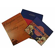 Royal Indian Wedding Cards | AIN-1830 | A2zWeddingCards
