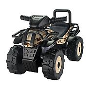 Tek Nek Honda Tan Camo Utility ATV Ride-On