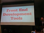 Front End Development Tools