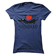 I Love Dachshunds T-Shirts