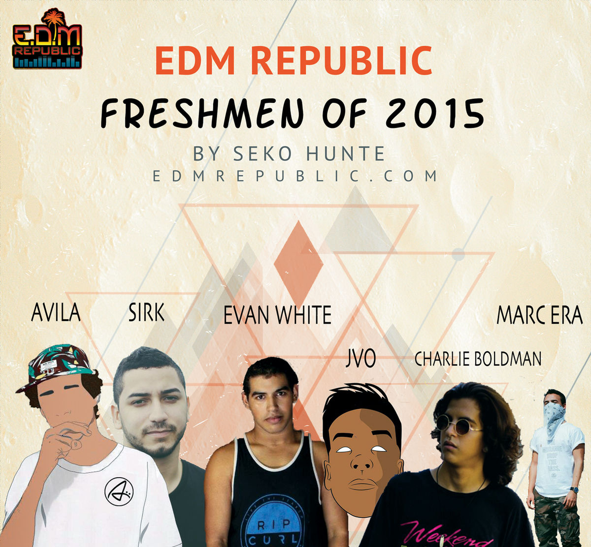 Headline for EDM Republic Freshmen 2015