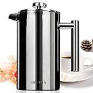 Affordable Stainless Steel French Press Coffee Maker