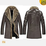 Shearling Fur Mens Coat CW852468