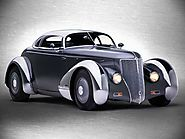 Eric Zausner's 1936 Ford roadster blends the elements of a hot rod, sports car, and fighter plane