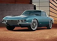 The Only Steel Bodied Corvette - The 1963 Corvette Rondine