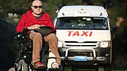 Wheelchair taxi vouchers changes held up by Uber reforms