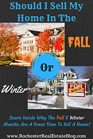 Fall And Winter Are Great Times To Sell Your Home