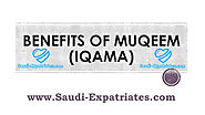 BENEFITS OF HAVING IQAMA