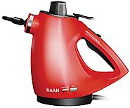HAAN HS-20R Handheld Steam Cleaner with Attachments Review