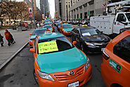 Toronto taxis threaten to stage new protest over Uber