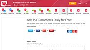 FoxyUtils SplitPDF - Split PDF Files Online for Free