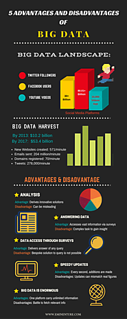 5 Advantages and Disadvantages of Big Data