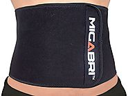 MIGABRI Waist Trimmer XT10 - Adjustable Waist Trimming Belt - Perfect For Ab Toning & Weight Loss - Premium Exercise ...