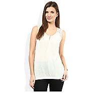 Shop b.young White Top at Affordable Price Rs.900 Online