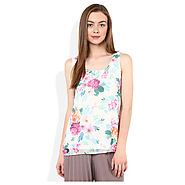 Buy ICHI White Top for Girls @ Best Price Rs.2,160 Online India