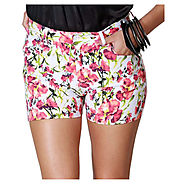Shop for Desire Multi Color Cotton Lycra Shorts @ Rs.549