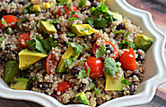 Zesty Cilantro Lime Quinoa Salad Recipe