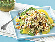 Quinoa Salad with Orange-Cumin Vinaigrette