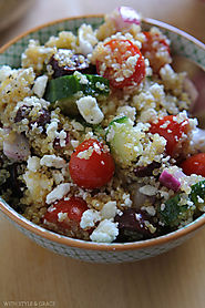 Healthy Greek Quinoa Salad Gluten-free