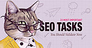 23 Most Important SEO Tasks You Should Validate Now
