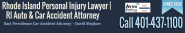 Rear Ended by Car, Truck, Auto, Van or Bus - RI Lawyer for Rear End Collisions