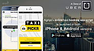 Agriya develops a user-friendly Uber clone app script for Android and iPhone devices