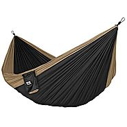 Neolite Double Camping Hammock - Lightweight Portable Nylon Parachute Hammock for Backpacking, Travel, Beach, Yard. H...