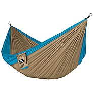Neolite Trek Camping Hammock - Lightweight Portable Nylon Parachute Hammock for Backpacking, Travel, Beach, Yard. Ham...