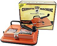 Gambler Tube Cut Tabletop Cigarette Making Machine Injector 100's & King Size