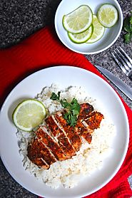 Sweet + Spicy Lime Chicken