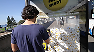 A Claw Machine Dispenses Sunscreen on This Cool Beachside Bus Shelter Ad