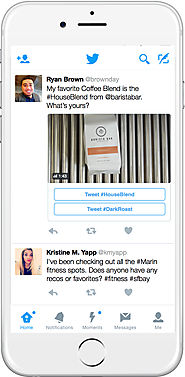 Twitter Launches Conversational Ads: Tweets With Call-to-Action Buttons