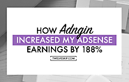 Review: How Adngin Increased My Adsense Earnings By 188%