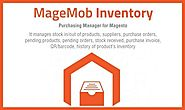 A feature-rich Magento Inventory system is built in the form of app! Use it on-the-move
