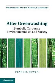 After Greenwashing: Symbolic Corporate Environmentalism and Society (Organizations and the Natural Environment)