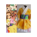 K-ON! Tainaka Ritsu Light Yellow Kimono Cosplay Costume -- CosplayDeal.com