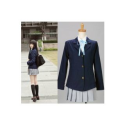 K-ON! Long Sleeves School Uniform Cosplay Costume -- CosplayDeal.com