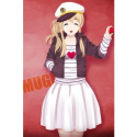 K-ON! Kotobuki Tsumugi Sailor Style Cool Cosplay Costume -- CosplayDeal.com