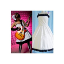 K-ON! Hirasawa Yui White Dress Cosplay Costume -- CosplayDeal.com
