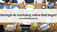 Strategii de marketing online fară buget!