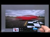 Adobe Photoshop Touch and Directional Blur