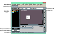 Aseprite is an open source program to create animated sprites