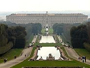 Royal Palace of Caserta, the best example of Italian Baroque.