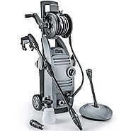 "THE FORCE 2000 - POWERHOUSE INTERNATIONAL - 1.6 GPM 2000 PSI (3000 PSI - ""IPB"") Electric Pressure Washer with Spinnin..."
